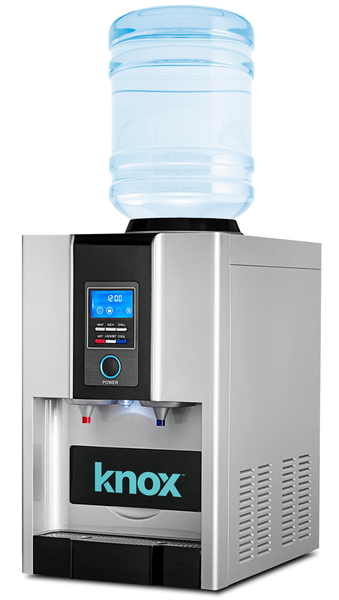 Amazon Com Knox Tabletop Hot Cold Water Cooler With Built