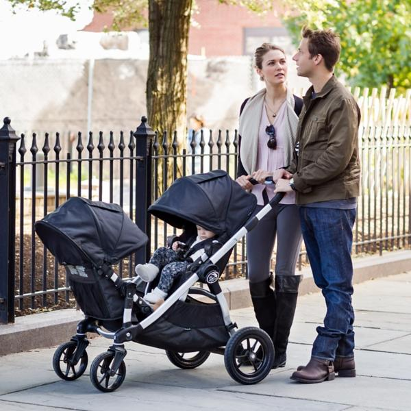 Baby Jogger City Select with Second Seat, Onyx