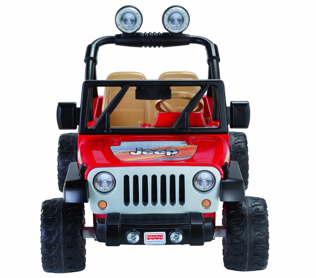 Amazon.com: Fisher-Price Power Wheels Jeep Wrangler