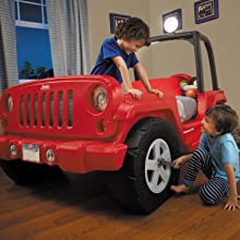 Amazon Com Little Tikes Jeep Wrangler Toddler To Twin Bed