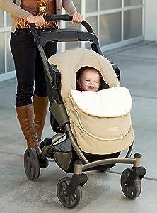 Amazon Com Jj Cole Car Seat Cover Graphite Baby