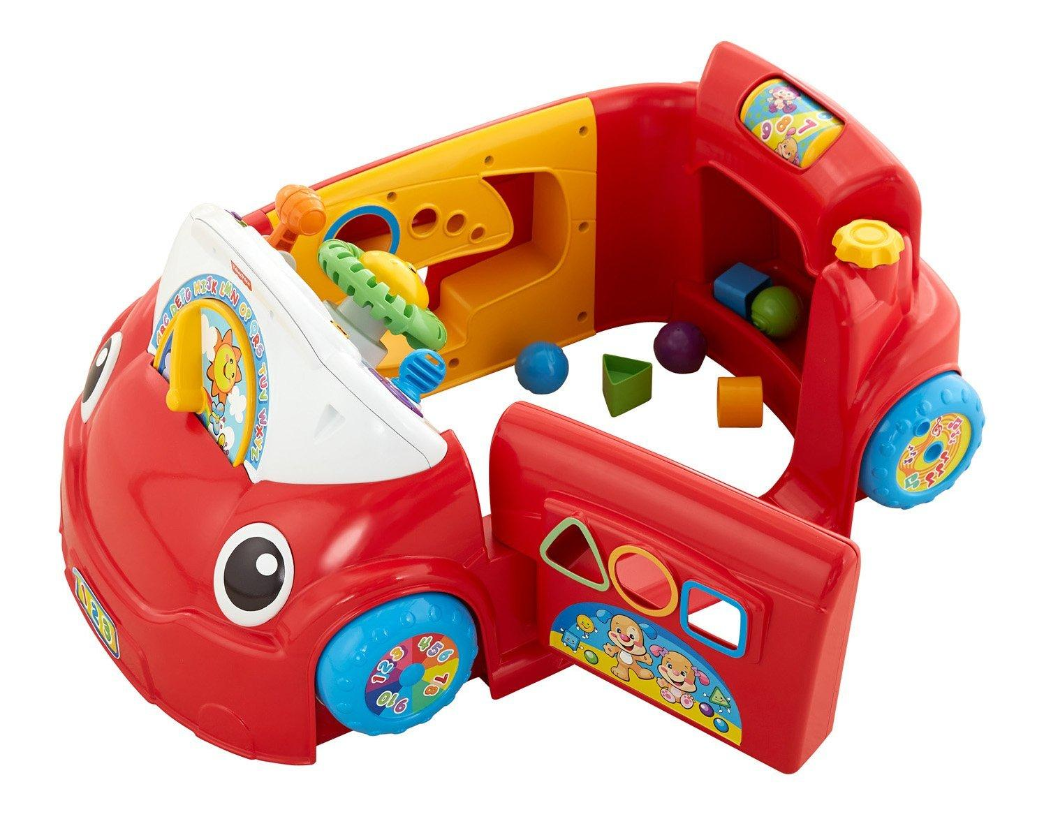 Laugh & Learn™ Wheels on the Car - YouTube  |Fisher Price Laugh And Learn Cars