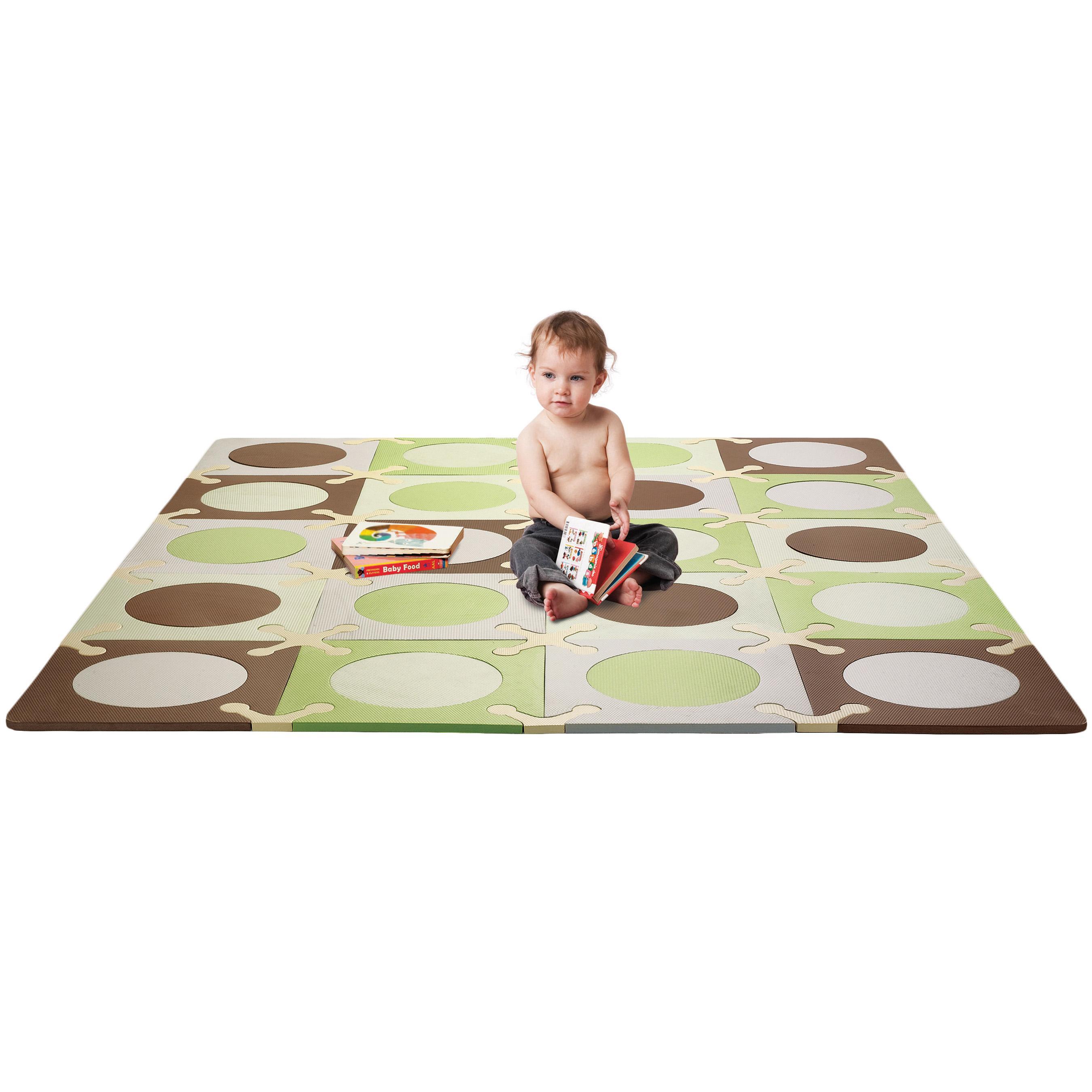 Amazon Com Skip Hop Playspot Floor Mat Green Brown 20