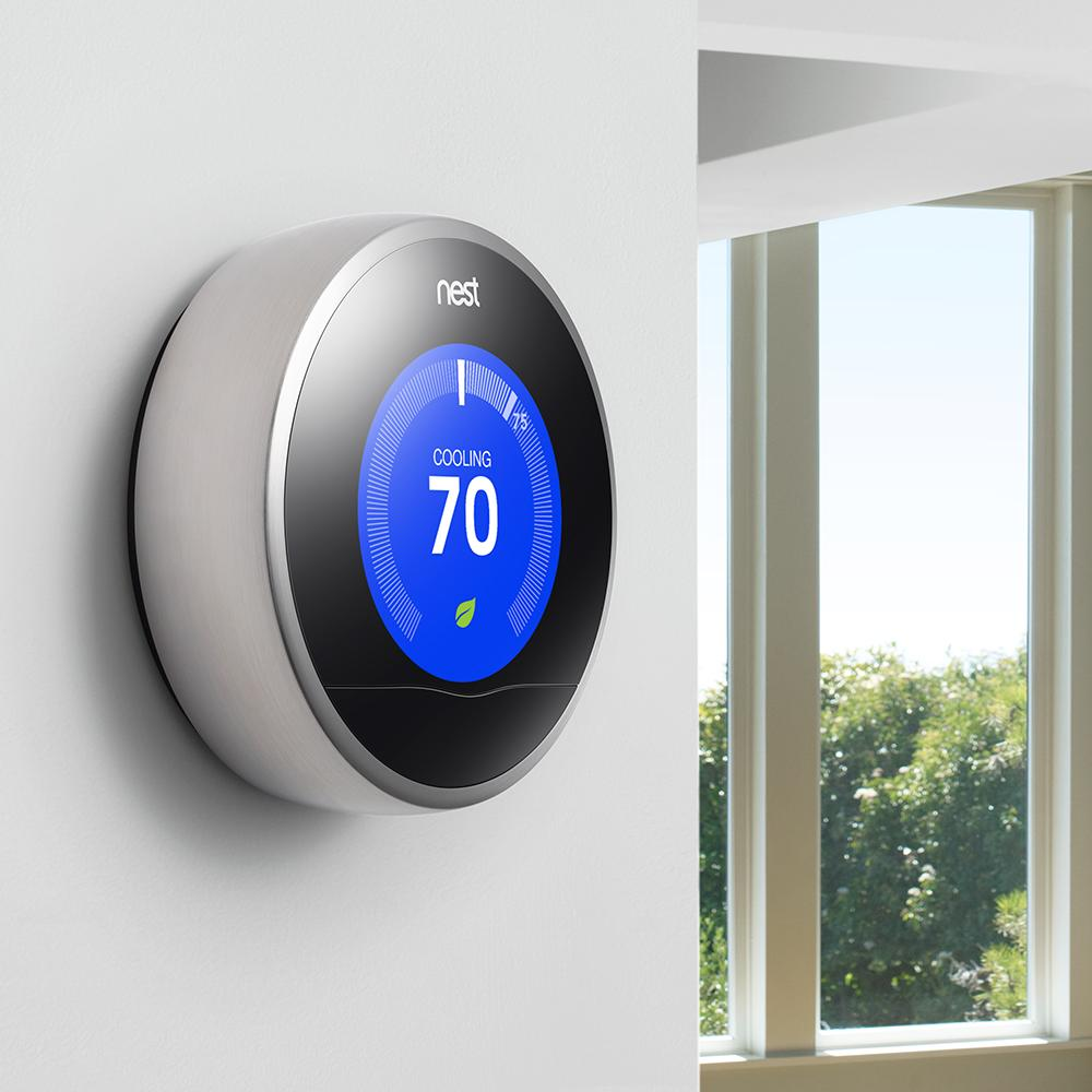 nest learning thermostat 2nd generation programmable. Black Bedroom Furniture Sets. Home Design Ideas