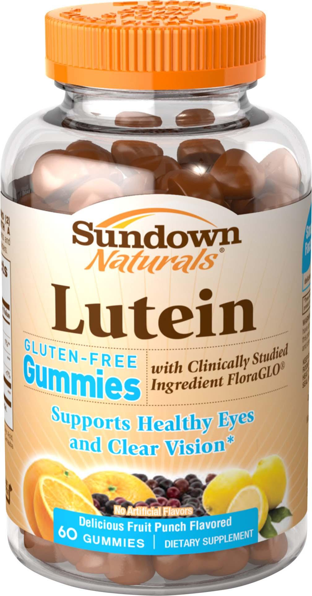 Lutein With Optilut 10 Mg: Amazon.com: Sundown Lutein Gummies, 12 Mg, 60 Count