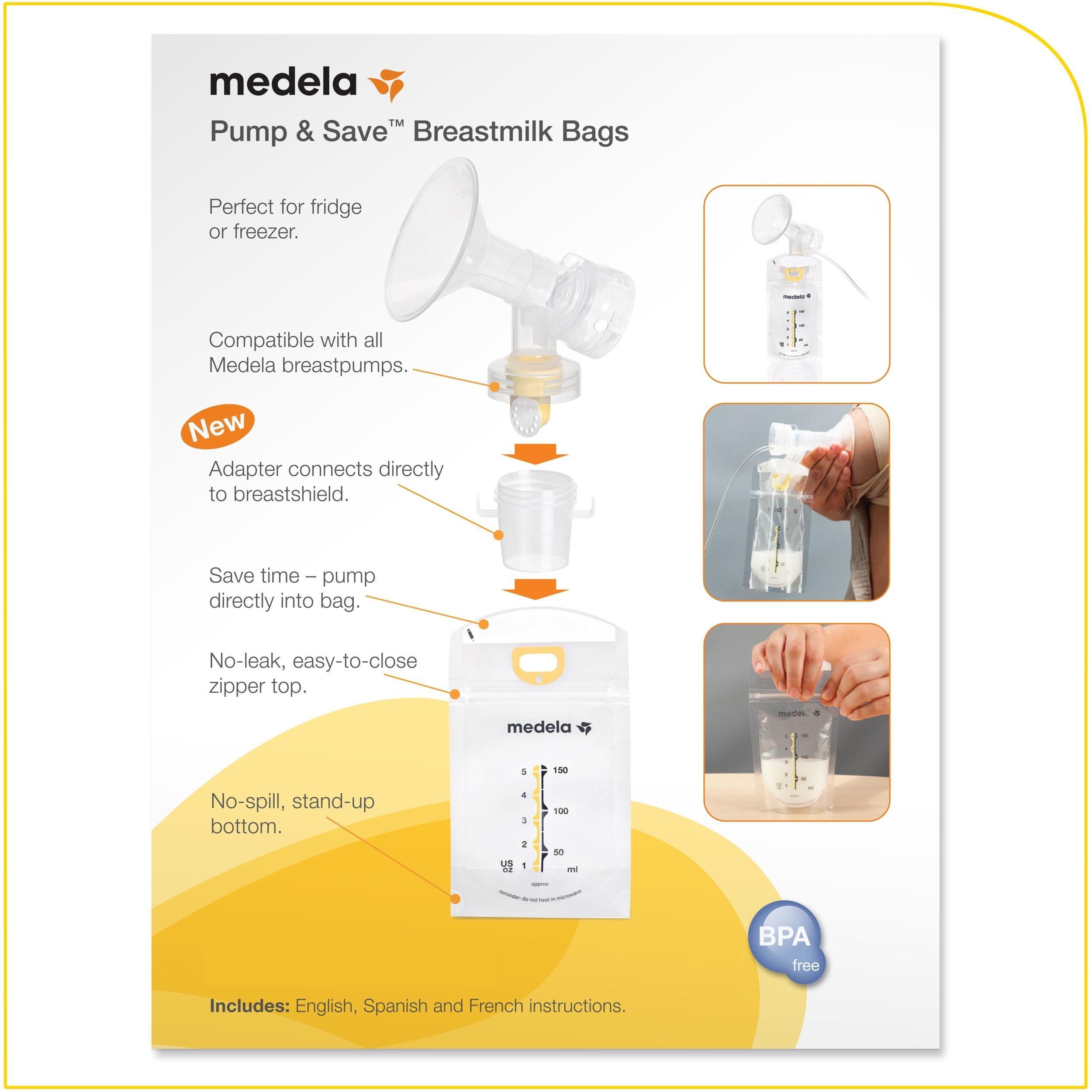 Amazon Com Medela Pump And Save Breast Milk Bags 50