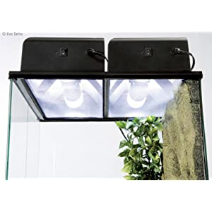 Fits One Or More Exo Terra Compact Fluorescent Or
