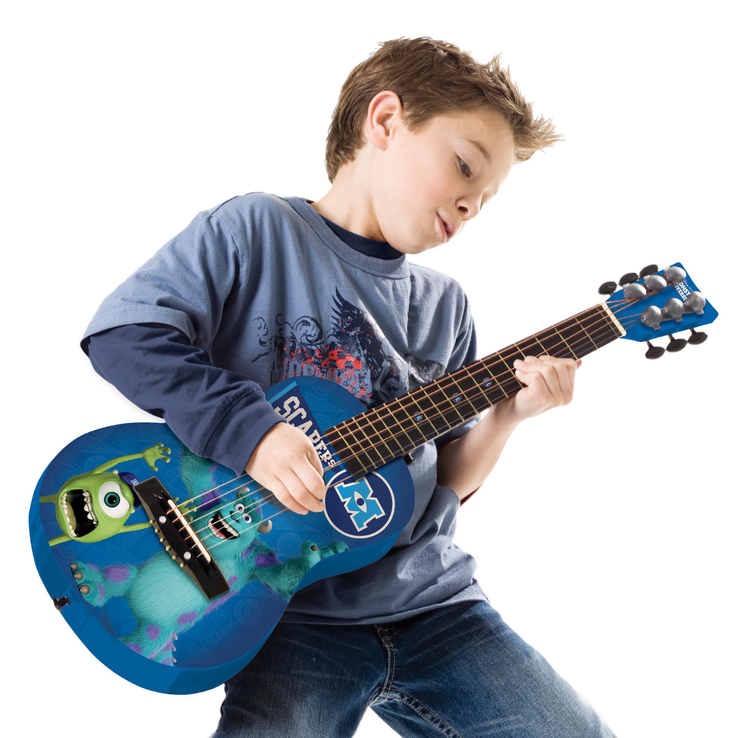 disney monsters first act acoustic guitar kids children play music instruments n ebay. Black Bedroom Furniture Sets. Home Design Ideas