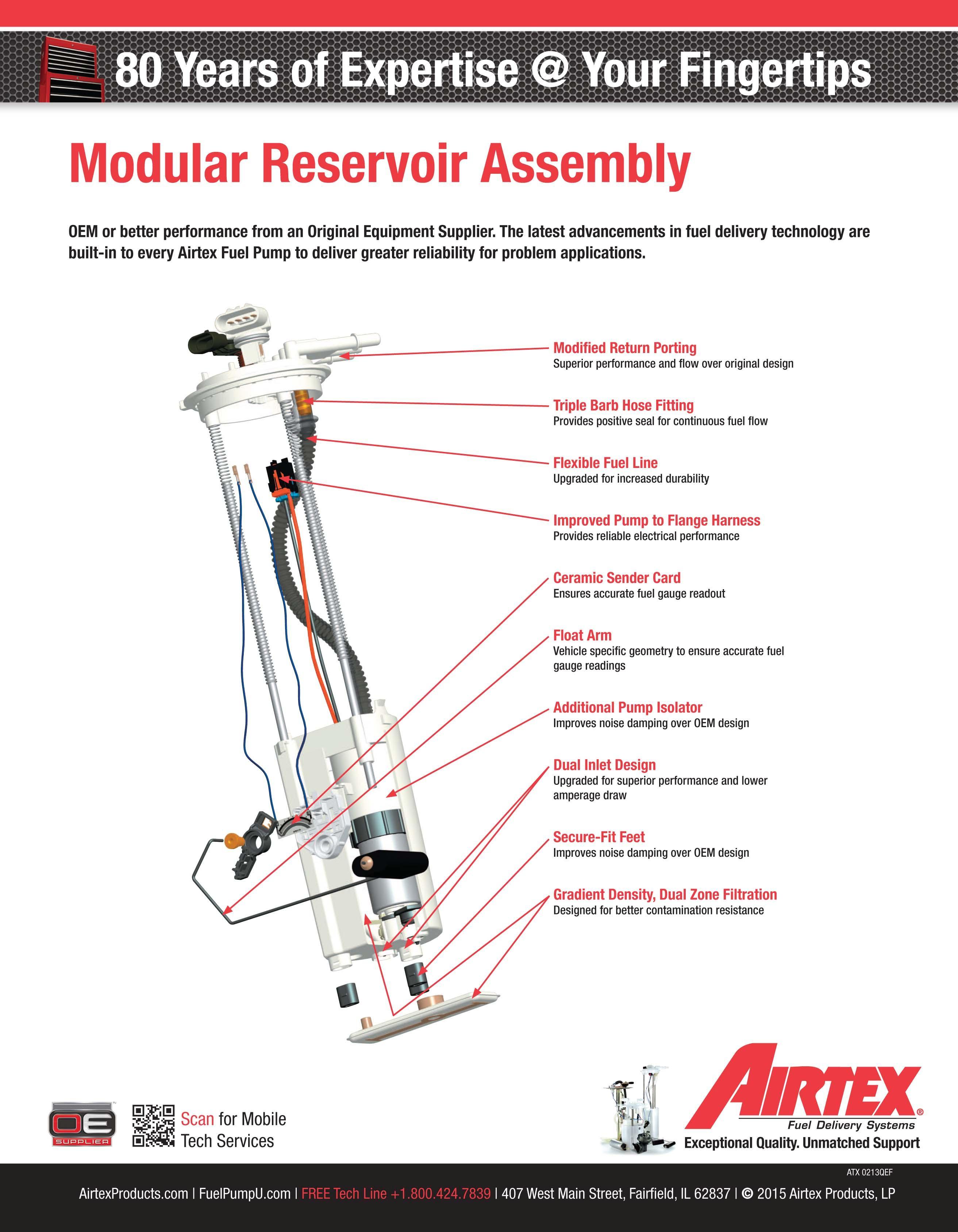 fuel pump module assembly airtex. Black Bedroom Furniture Sets. Home Design Ideas