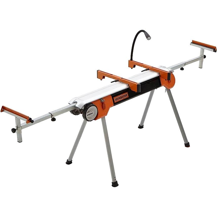 Folding Miter Saw Stand With Wheels Portamate Pm 7500