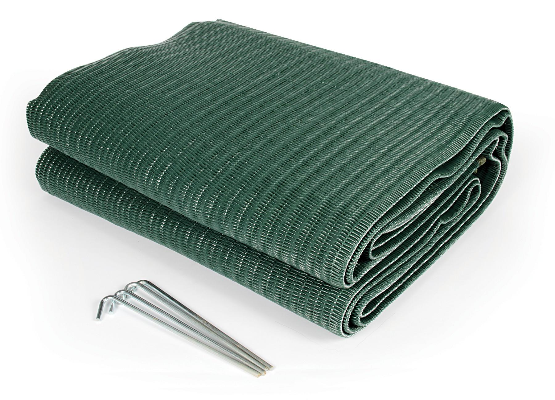 Amazon Com Camco 42880 Reversible Awning Leisure Mat 6