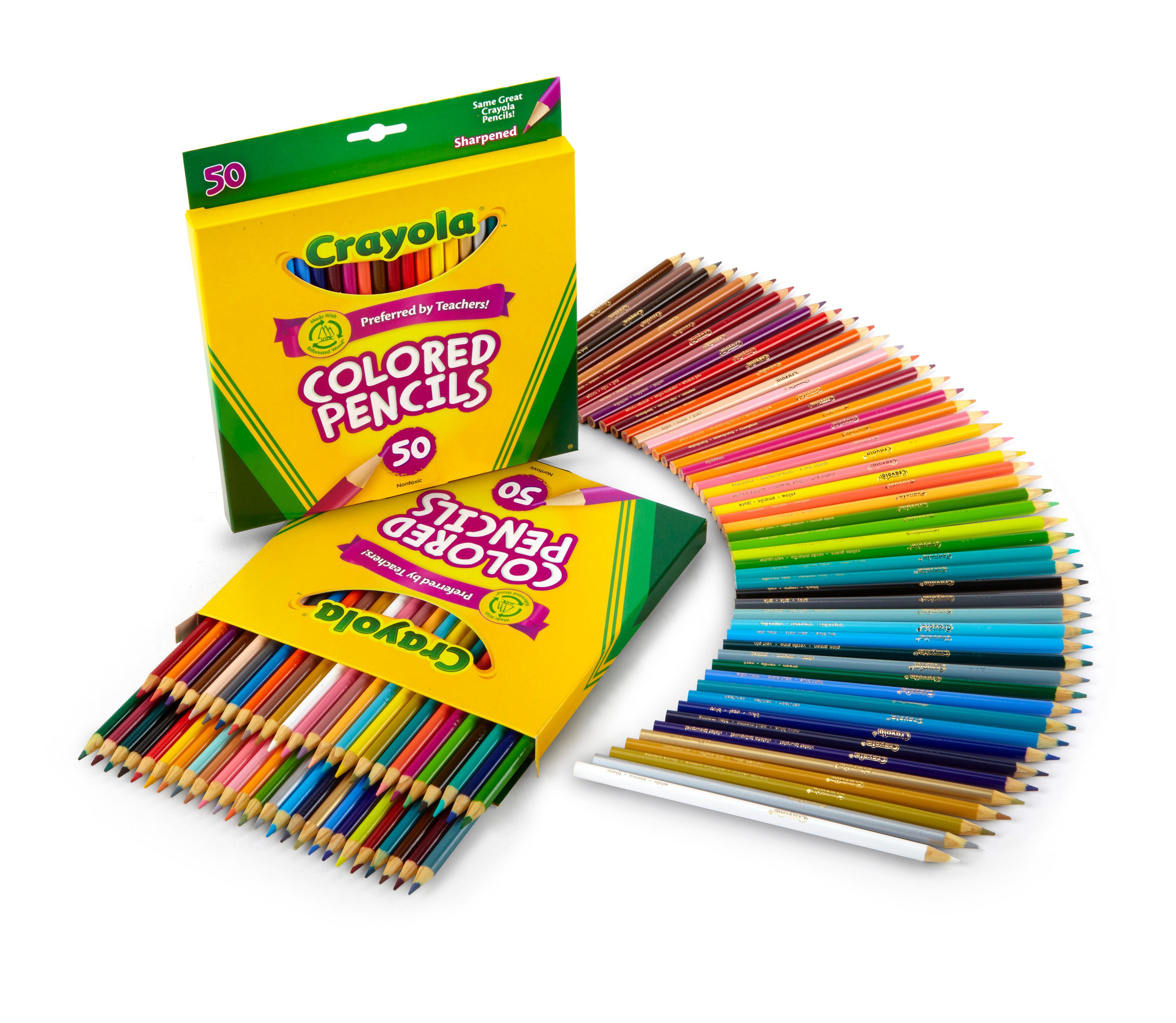 Walmart Kitchen Islands Crayola 50 Count Colored Pencils 28 Images Crayola