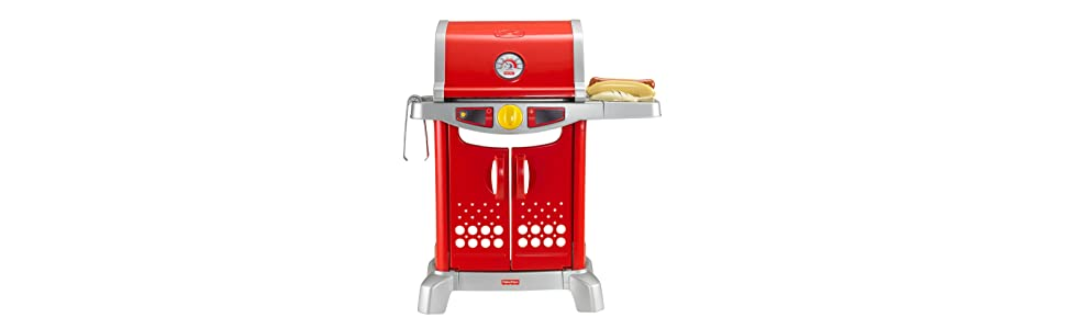 Fisher Price Toy Kitchen Sets With Grill Playset