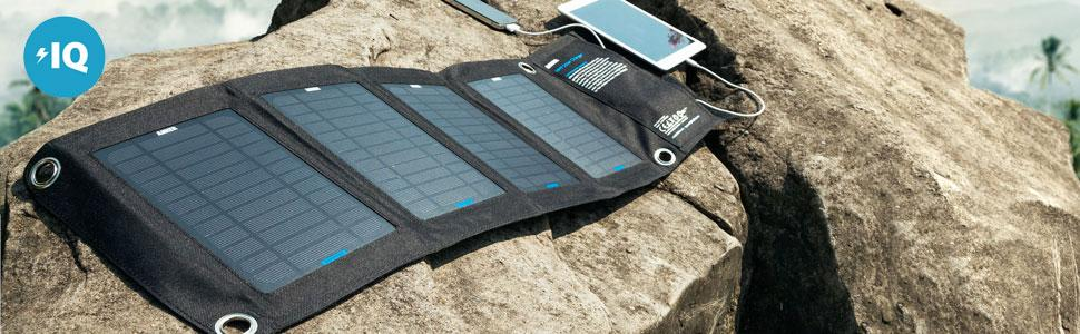 Anker 14W Solar Charger with PowerIQ Technology