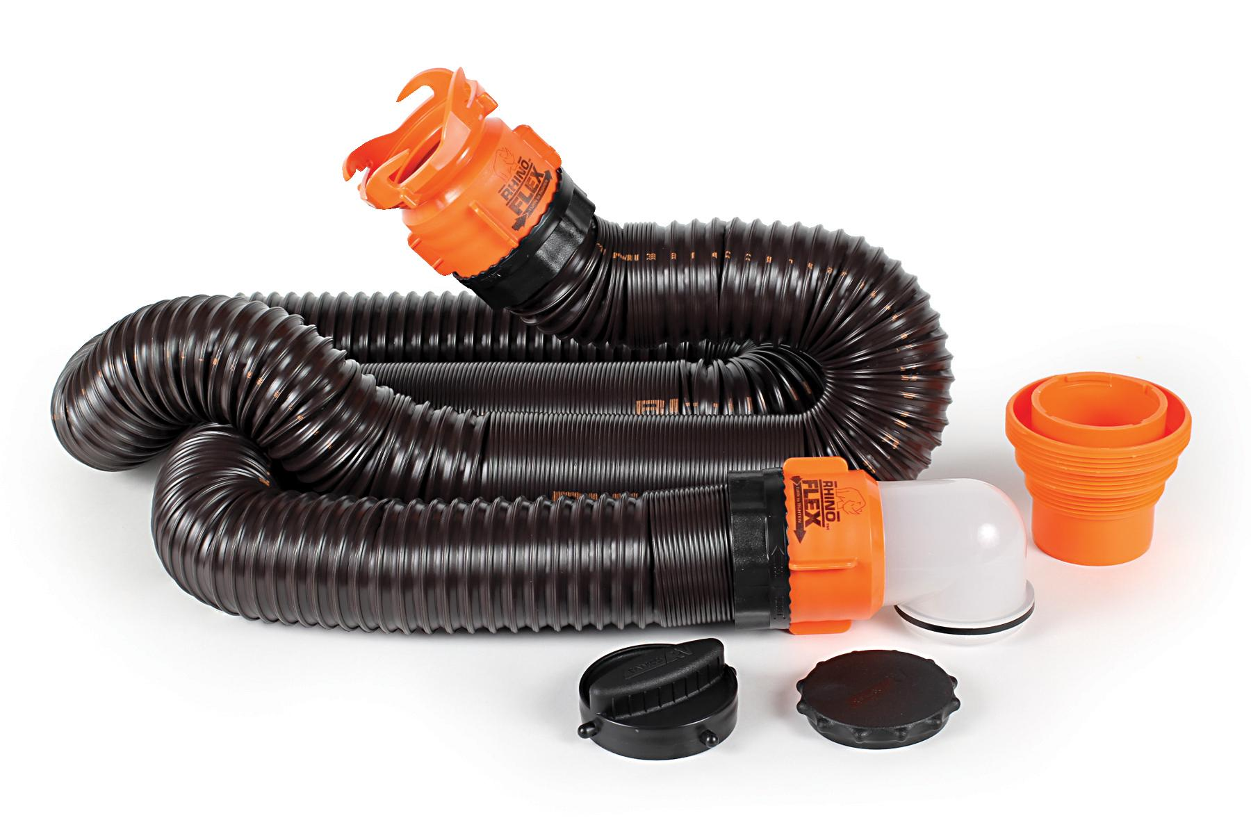 Camco 39761 Rhinoflex 15' RV Sewer Hose Kit with Swivel