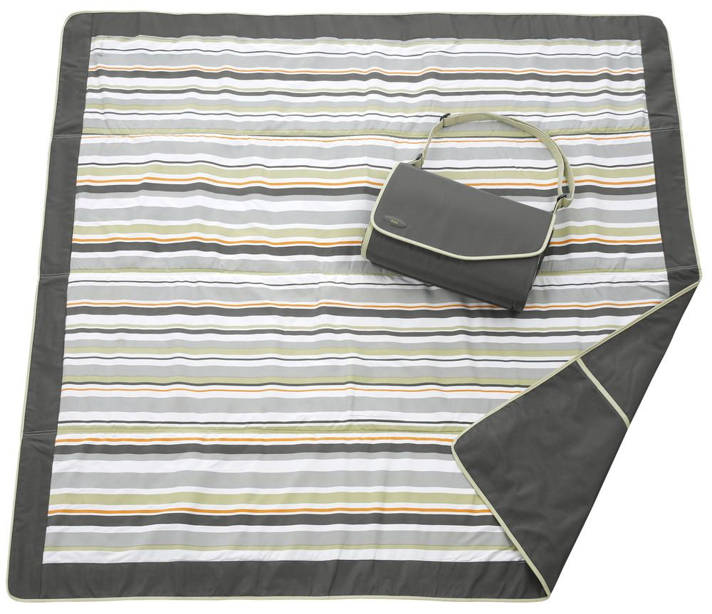Amazon Com Jj Cole Outdoor Blanket Gray Green 5 X 5