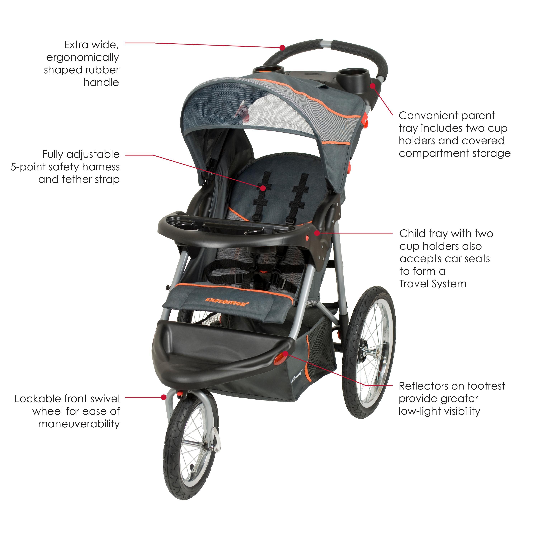 Amazon.com : Baby Trend Expedition Jogger, Vanguard ...