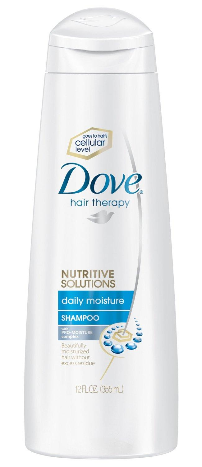 Dove shampoo packaging