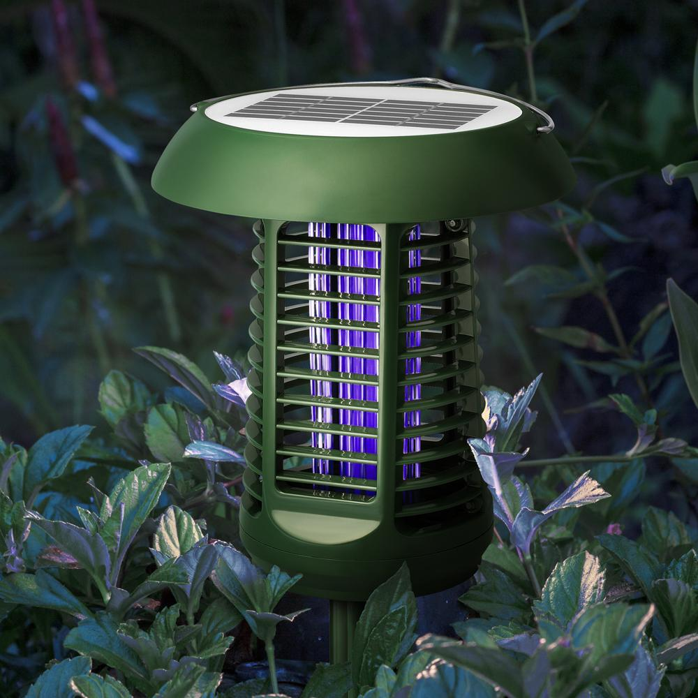 Solar-Powered UV Bug Zapper NK63 Reviews - Do it Works