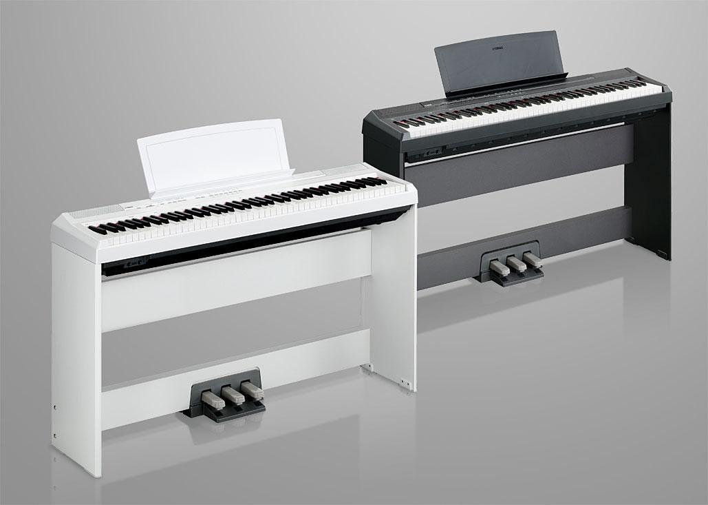 yamaha p series p105b 88 key digital piano musical instruments. Black Bedroom Furniture Sets. Home Design Ideas