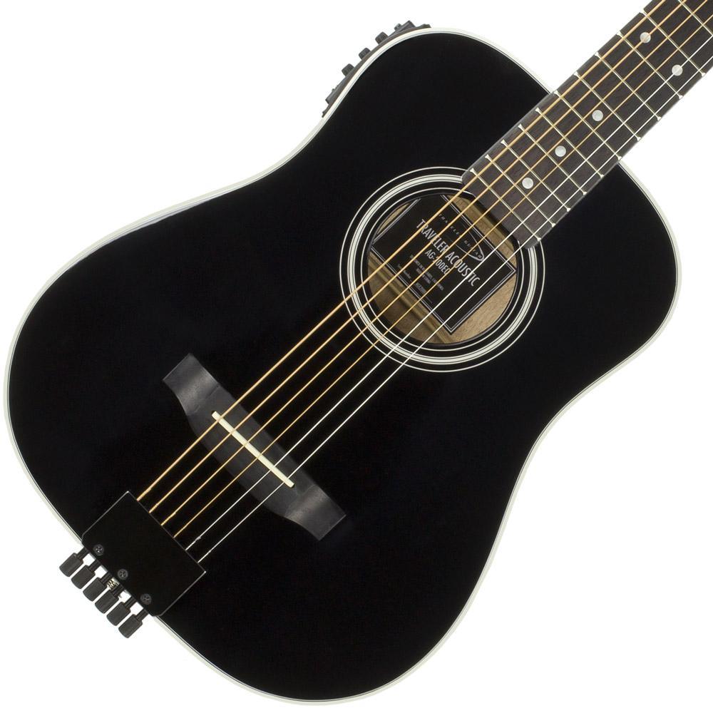 traveler guitar ag 200eq acoustic electric guitar black musical instruments. Black Bedroom Furniture Sets. Home Design Ideas