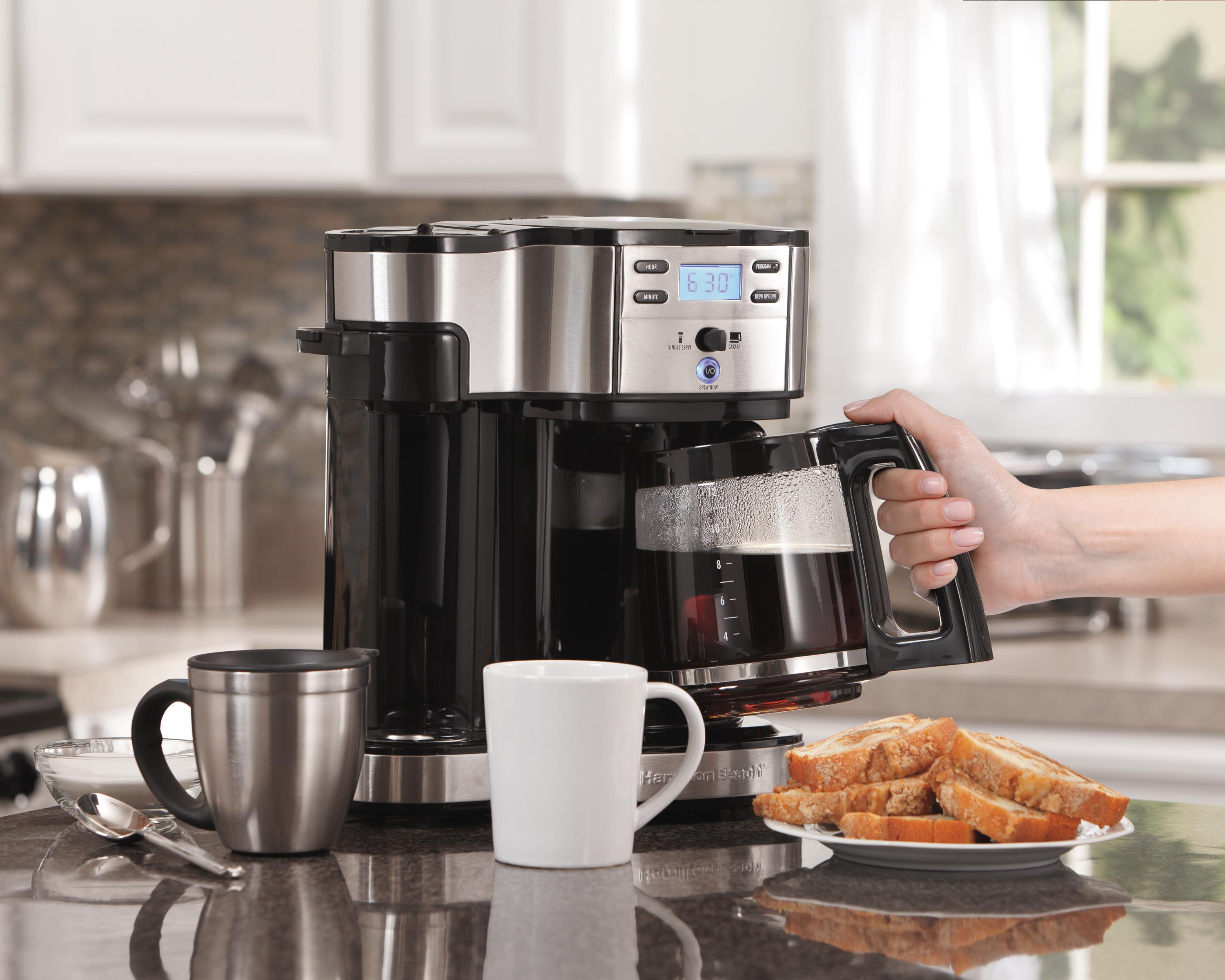 Amazon Com Hamilton Beach Single Serve Coffee Brewer And