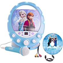 Amazon Com Frozen Disney Disco Party Cd G Karaoke With