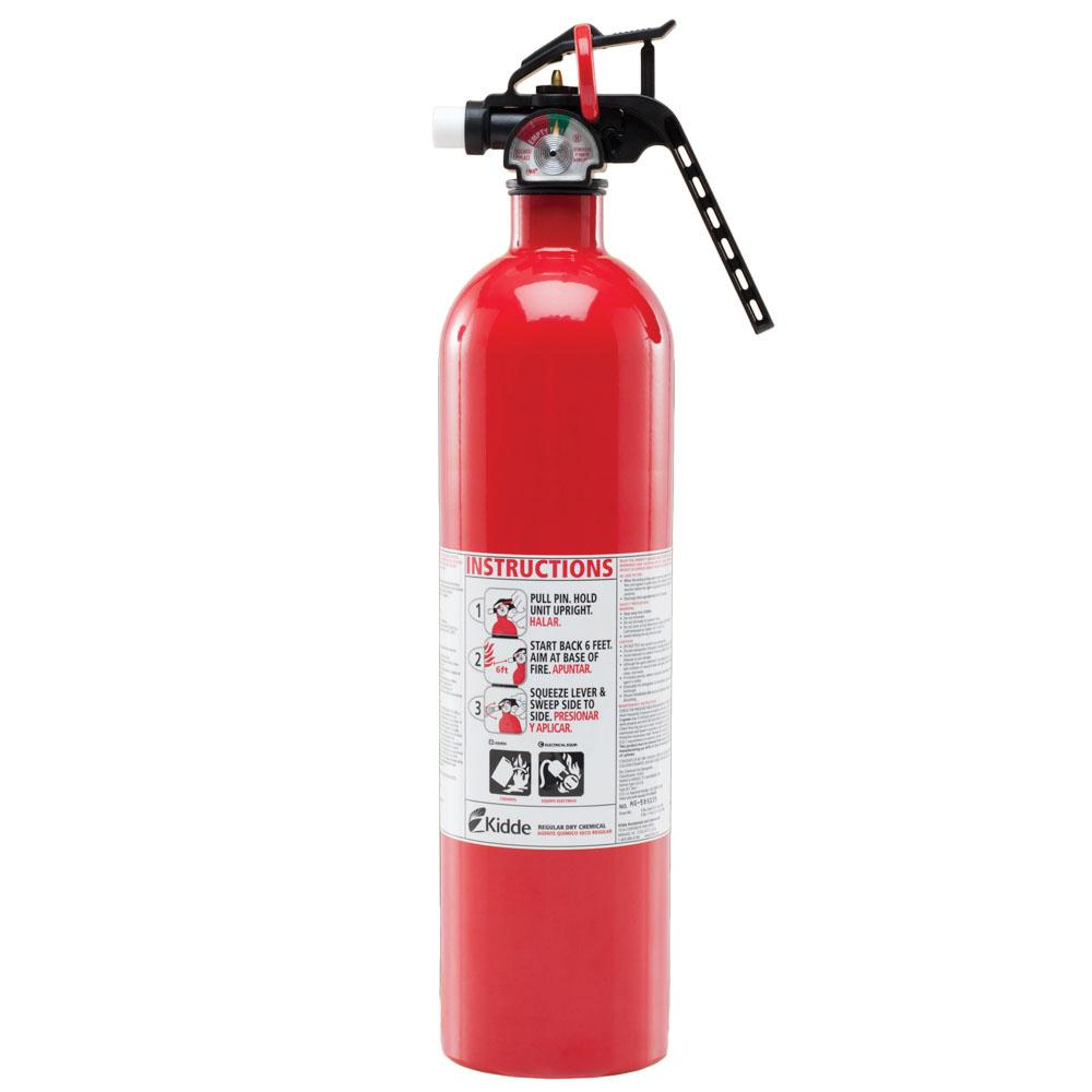 Kidde Fire Extinguisher ABC Dry Chemical Home Car Shop