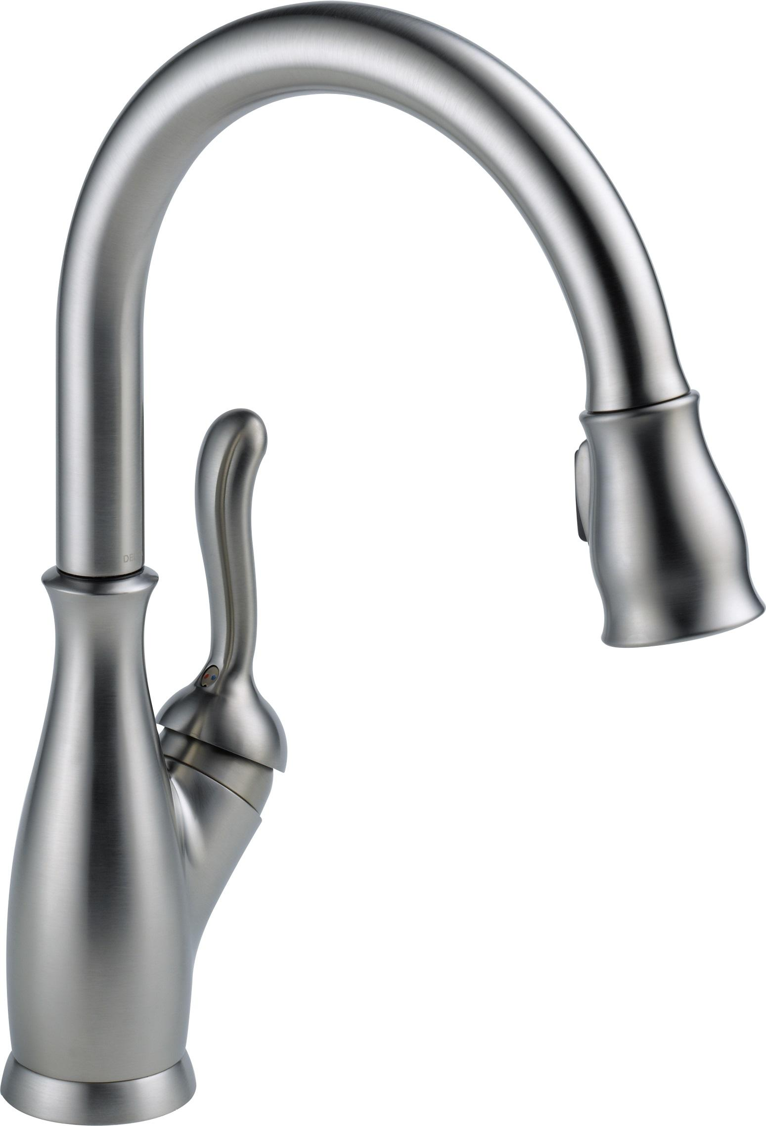 Delta Faucet 9178-RB-DST Leland Single Handle Pull-Down