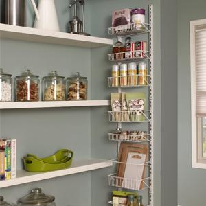 Wall Mount Door Rack Spice Cabinet Organizer Storage