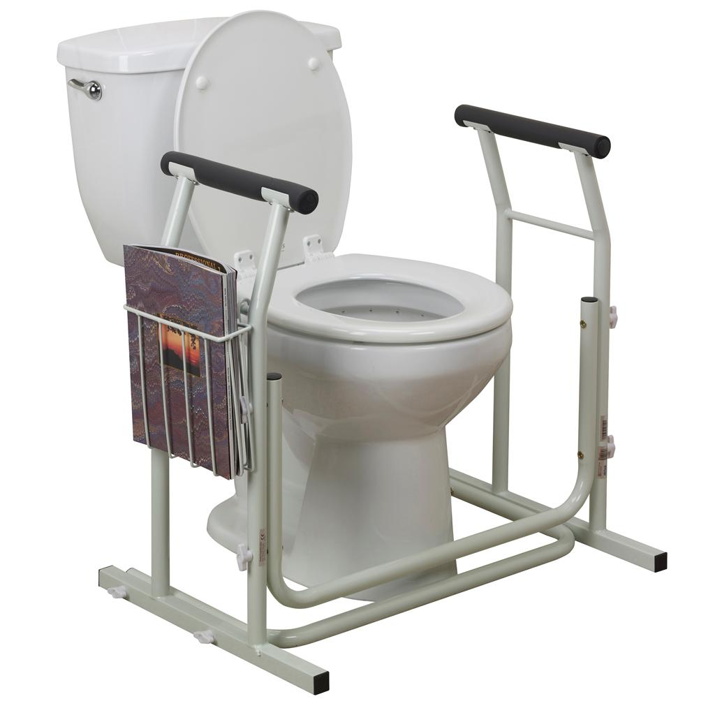 Amazon Com Drive Medical Stand Alone Toilet Safety Rail