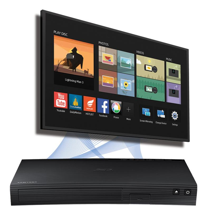Amazon.com: Samsung BD-J5900 Curved 3D Blu-ray Player With