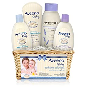 Amazon Com Aveeno Baby Daily Bathtime Solutions Gift Set