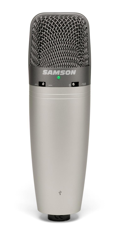 samson c03u multi pattern usb studio condenser microphone musical instruments. Black Bedroom Furniture Sets. Home Design Ideas