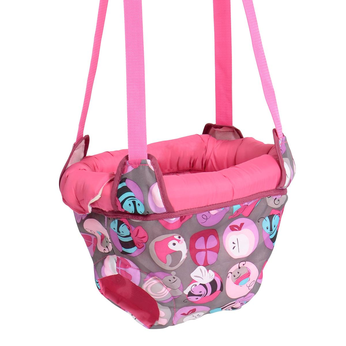 Exersaucer Door Jumper Pink Evenflo