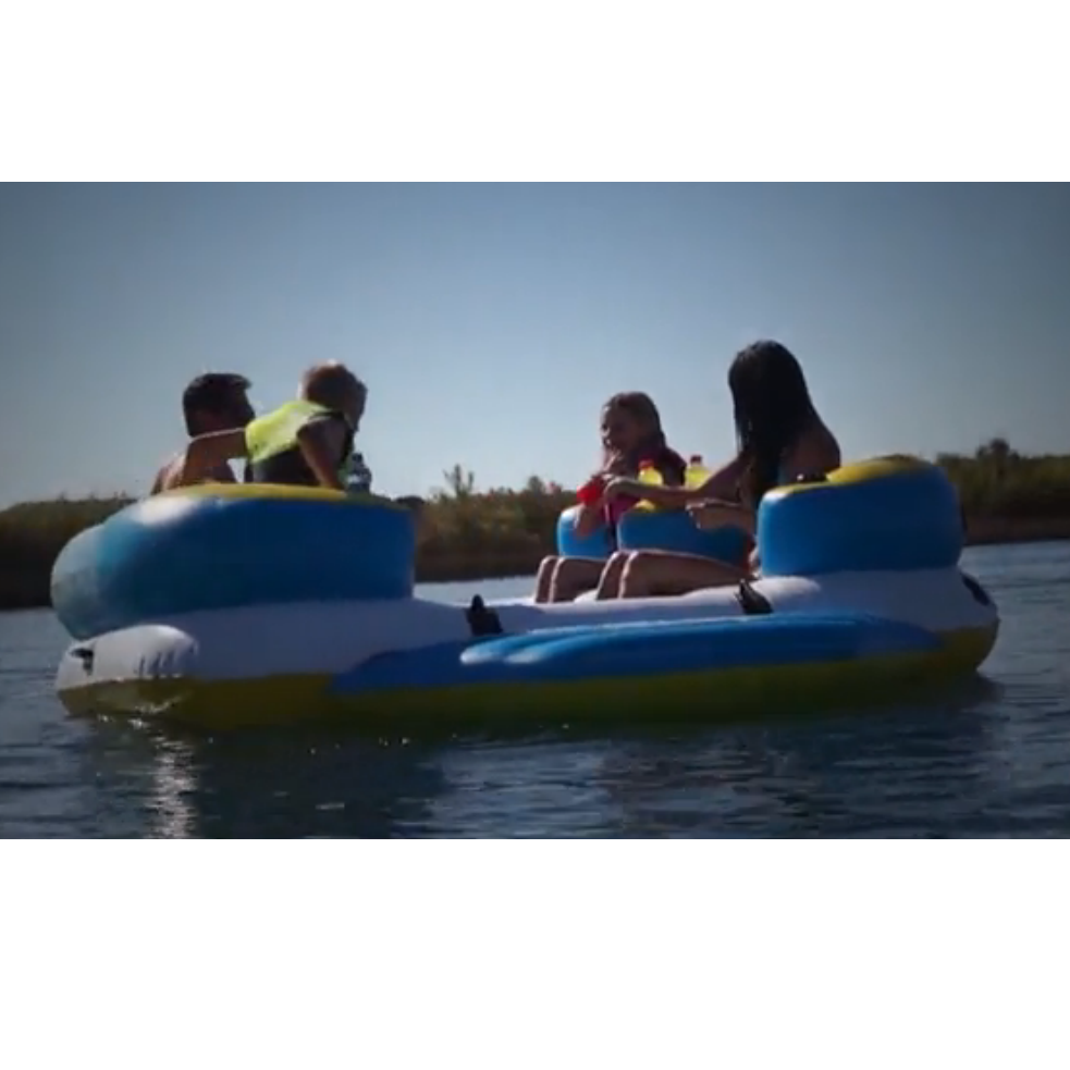 Amazon.com: Body Glove Inflatable Party Island, Paradise 4