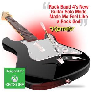 rock band 4 wireless fender stratocaster guitar controller for xbox one black. Black Bedroom Furniture Sets. Home Design Ideas