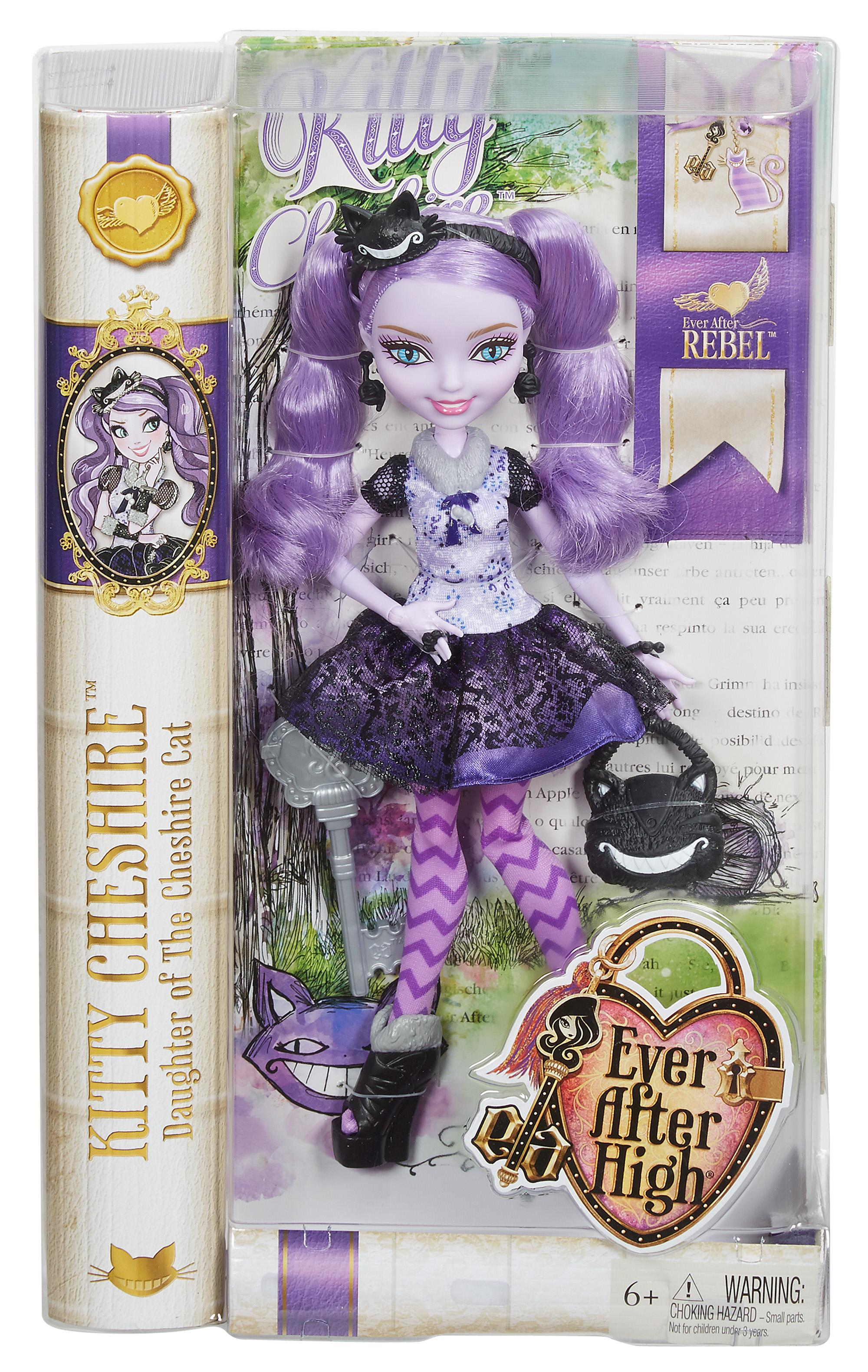 Amazon Com Ever After High Kitty Cheshire Doll Toys Amp Games