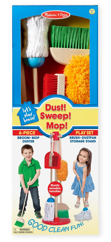 Amazon Com Melissa Amp Doug Let S Play House Dust Sweep