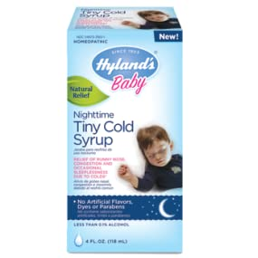 Amazon Com Hyland S Baby Nighttime Cold Syrup Natural