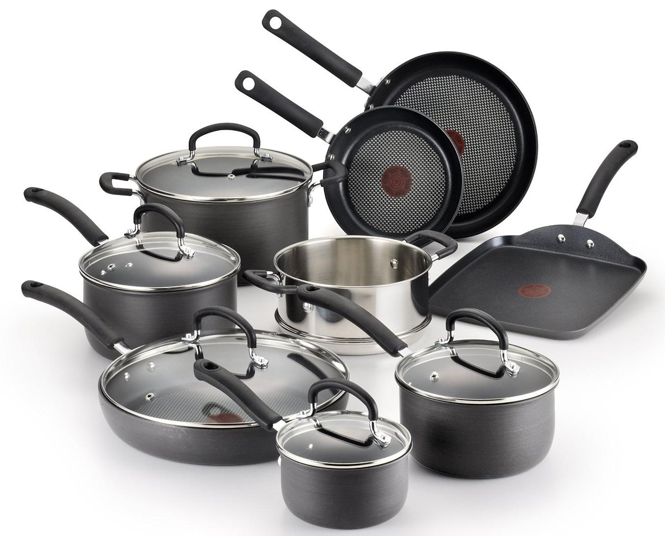 New Cookware Pots Pans Ultimate Nonstick Dishwasher Oven