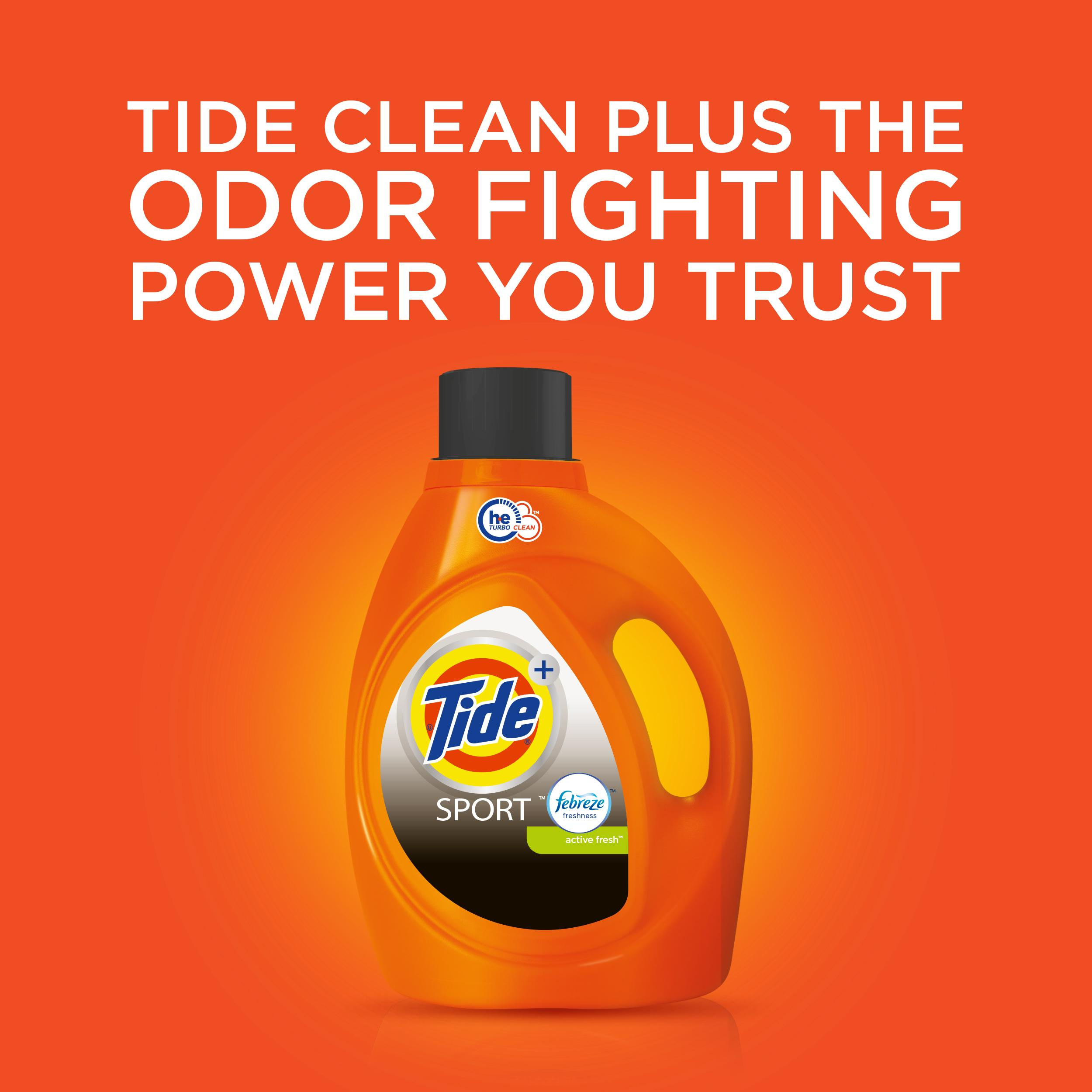 Amazon Com Tide With Febreze Freshness He Sport Active