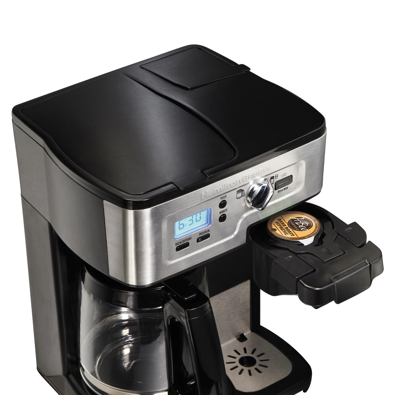 Amazon.com: Hamilton Beach Single Serve Coffee Brewer and ...