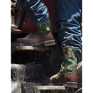 Amazon Com Justin Boots Men S 13 Quot Stampede Boot Shoes
