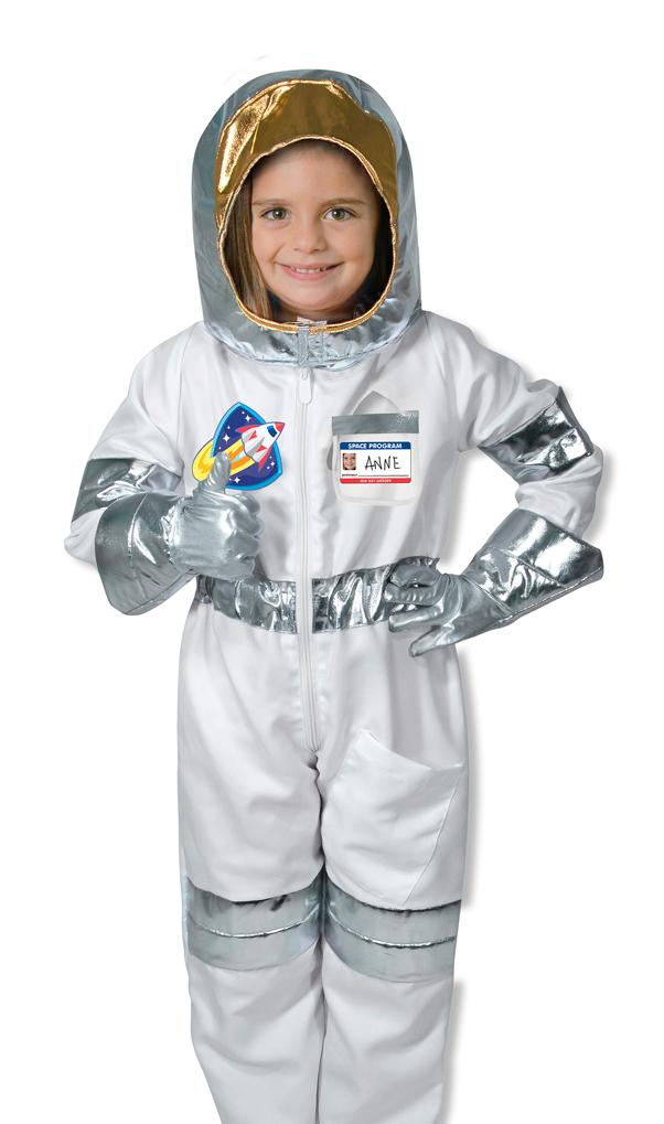 Little Girl in Astronaut Suit - Pics about space