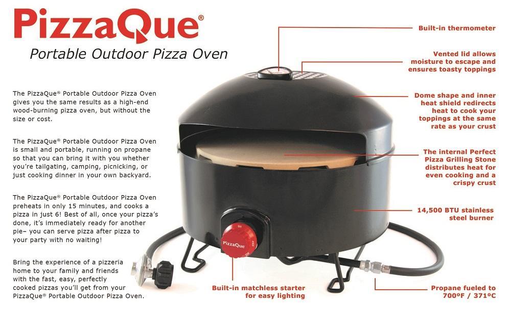 Amazon Com Pizzacraft Pizzaque Pc6500 Outdoor Pizza Oven