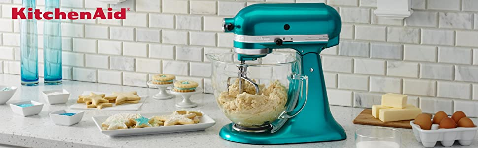 Amazon Com Kitchenaid Ksm155gbca 5 Qt Artisan Design