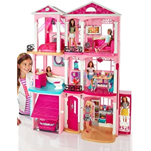 Image Result For Amazon Com Barbie Dreamhouse Toys Games