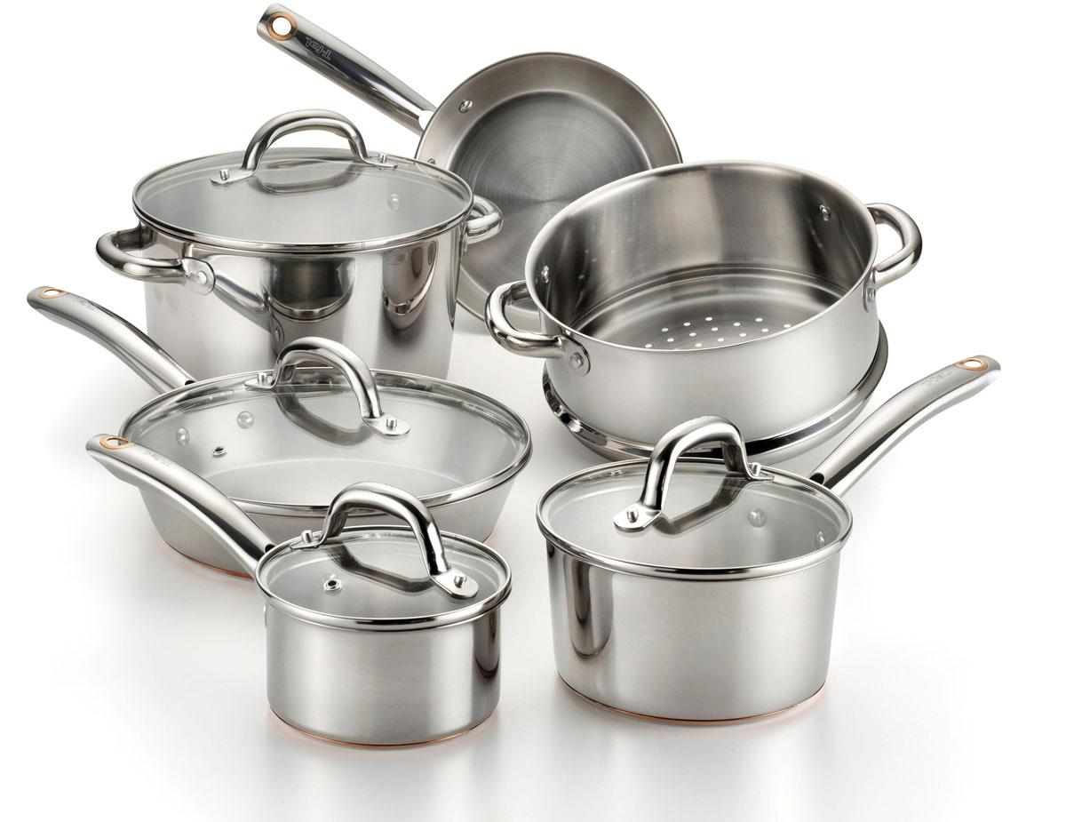 Amazon Com T Fal C836sa Ultimate Stainless Steel Copper