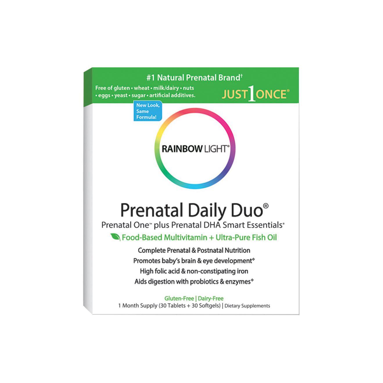 Amazon Com Rainbow Light Prenatal And Posnatal Prenatal